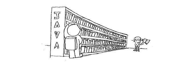 java et sa grande bibliothèque