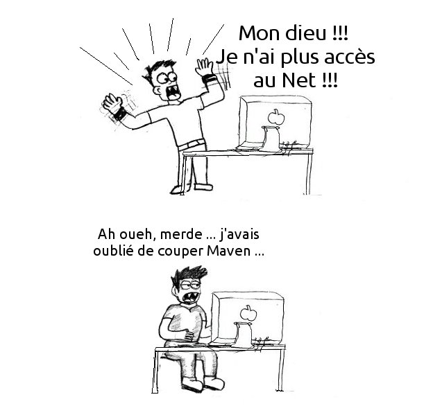 Maven l'usine qui copie le Net