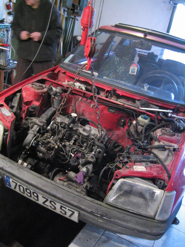 205 et moteur